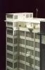 Správní budova firmy Baťa od arch. V. Karfíka 1:100