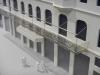 Cafe Louvre návrh balkonu 1:100