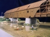 Dřevěný krytý most v Radošově 1:50